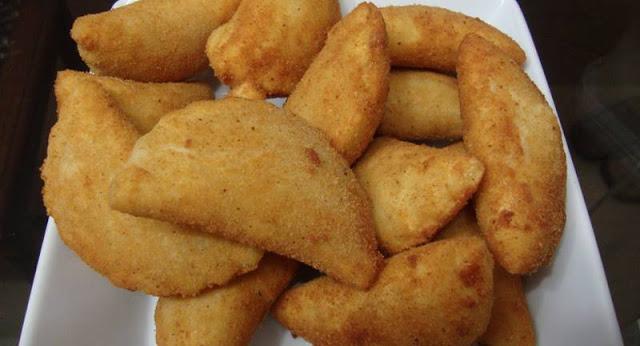 Rissóis de Bacalhau delicioso, crocante e fácil de fazer