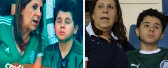 Fifa nomeia mãe que narra os jogos para seu filho cego como a 'Melhor fã de futebol'