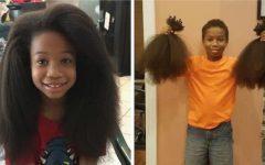 Esse garoto deixou seu cabelo crescer por 2 anos para fazer perucas para crianças com câncer