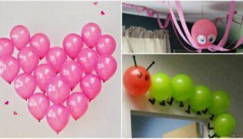 Aprenda a fazer decorações com balões para qualquer tipo de ocasião