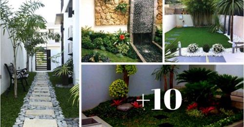 14 ideias para renovar o seu quintal pequeno gastando muito pouco