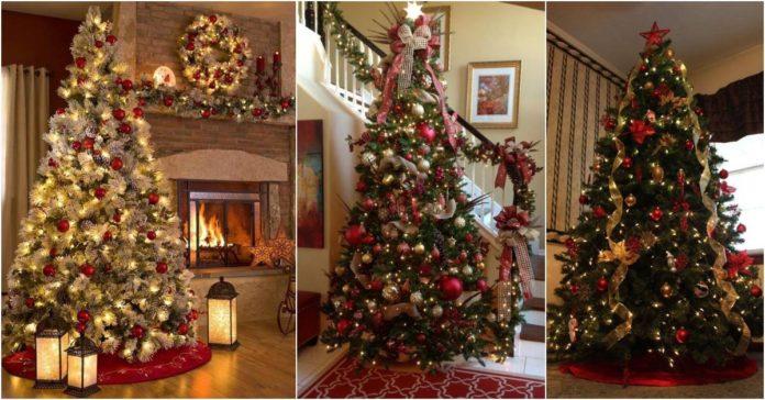 Aprenda a decorar sua árvore de Natal com essas lindas ideias