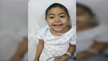 Isabella, a menina de 3 anos que derrotou o câncer em tempos de pandemia