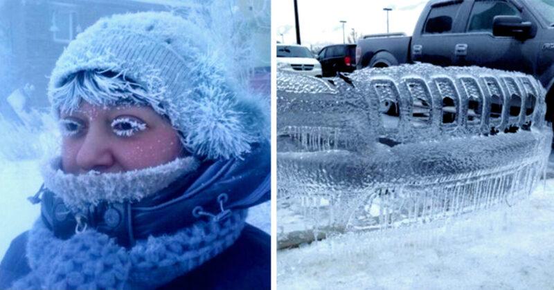 20 imagens que revelam o que realmente é estar com frio