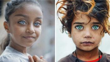Fotógrafo captura a beleza dos olhos das crianças que brilham como pedras preciosas (20 fotos)