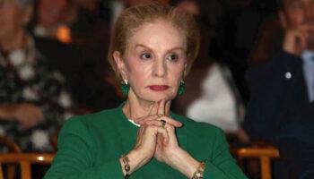 Carolina Herrera diz: Apenas mulheres sem classe têm cabelos longos após os 40 anos