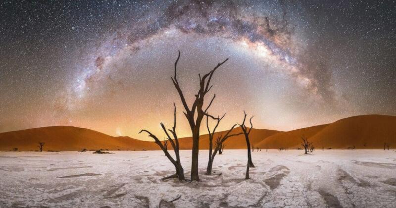 As melhores fotos da Via Láctea que demonstram a beleza do Universo