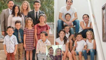 Casal prestes a se aposentar adota sete crianças que ficaram órfãs depois de um trágico acidente de carro