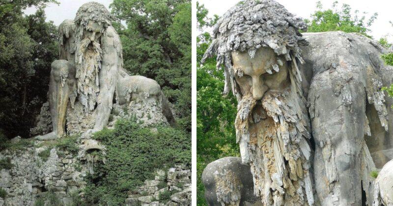 'O Colosso dos Apeninos', uma espetacular escultura do século 16