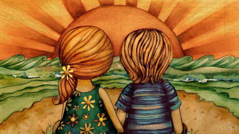Filhos que são amados tornam-se adultos que sabem amar