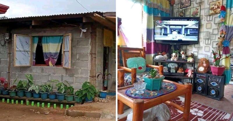 """""""Pobreza não significa sujeira"""": jovem atrai aplausos ao mostrar sua casa humilde, mas organizada"""