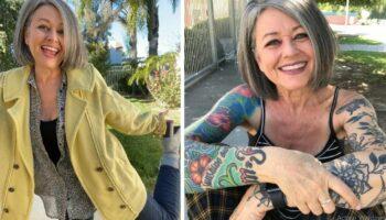 """Mulher de 56 anos é criticada por usar roupas 'juvenis' E ela responde: """"Vistam o que quiserem"""""""