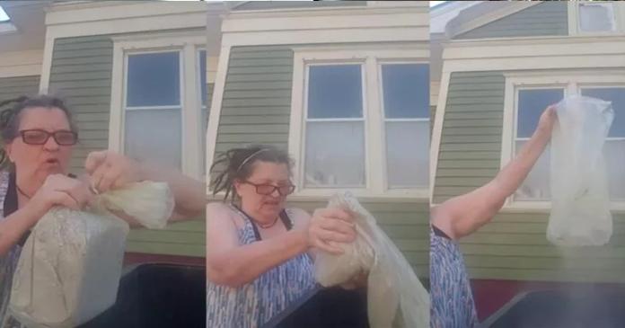 "Mulher se grava jogando as cinzas do marido no lixo ""por todas as vezes que ele me maltratou"""