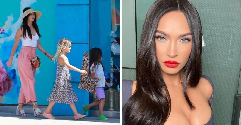 """""""Não quero que ele leia essa porcaria"""": Megan Fox se irrita ao ver seu filho sendo ofendido por usar vestido"""